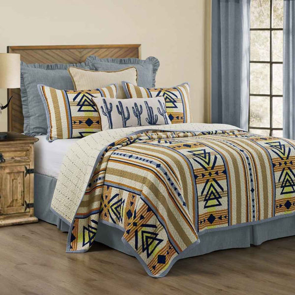 Picture of Pontiac 3-Piece Quilt Set