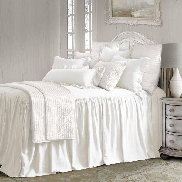 Picture of Luna 3-Piece Comforter Set - White