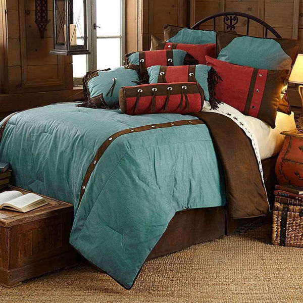 Picture of Cheyenne Comforter Set - Turquoise