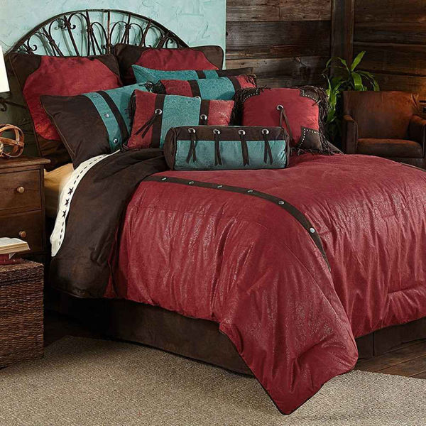 Picture of Cheyenne Comforter Set - Red