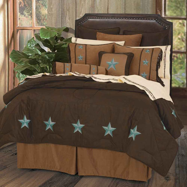 Picture of Laredo 6-Piece Comforter Set - Turquoise