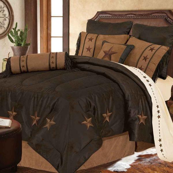 Picture of Laredo 6-Piece Comforter Set - Chocolate