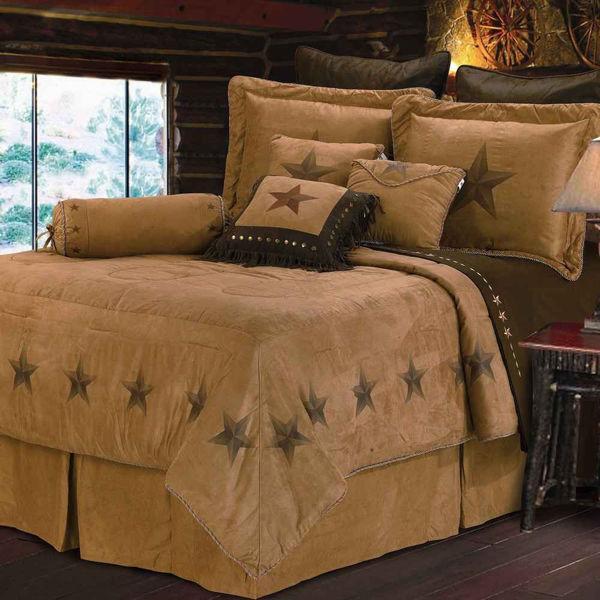 Picture of Luxury Star 7-Piece Comforter Set