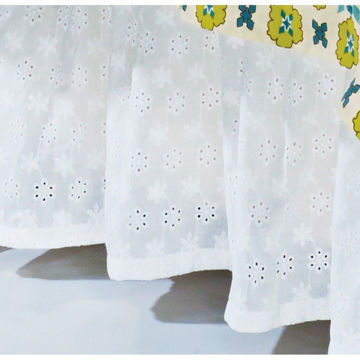 Picture of Eyelet Bedskirt