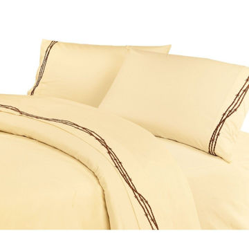 Picture of Barbwire Sheet Set - Cream
