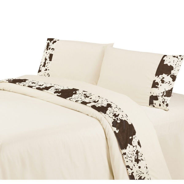 Picture of Faux Cowhide Sheet Set