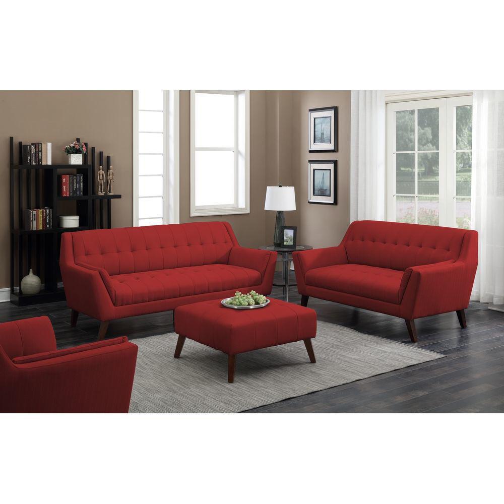 Binetti Sofa - Red - Lifestyle