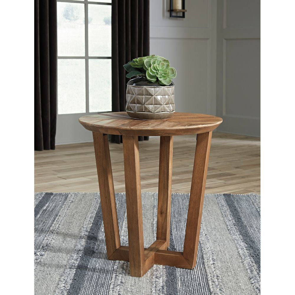 Picture of Mango Round End Table