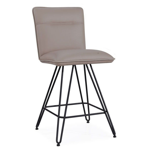 Picture of Demi Counter Stool - Taupe