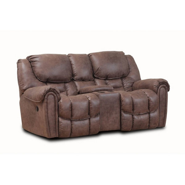 Picture of Wilton Mocha Rocking Console Loveseat