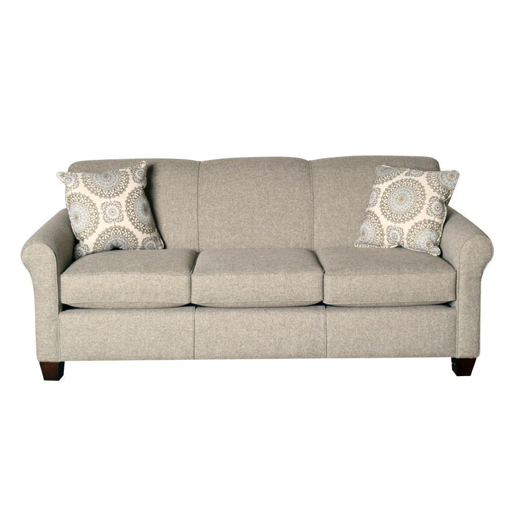 Angie Queen Sleeper Sofa - Front