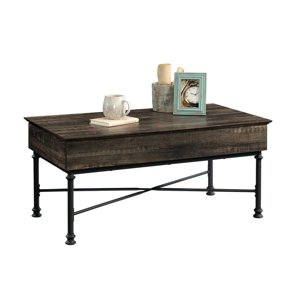 Picture of Marina Row Industrial Lift-Top Cocktail Table