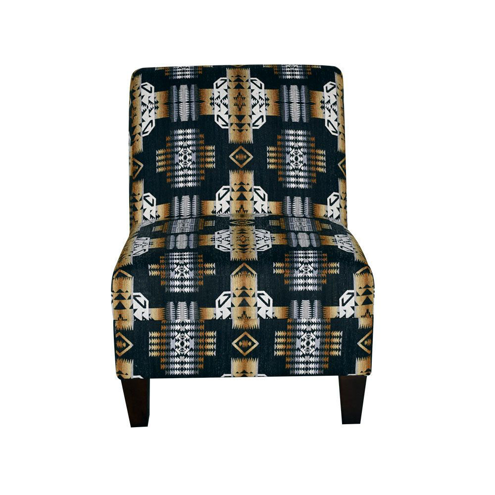 Zara Armless Chair - Front