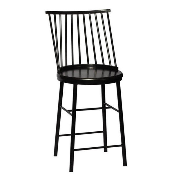"""Picture of Frida Stool - 24"""" - Black"""