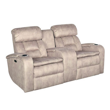 Aden Power Reclining Loveseat with Console
