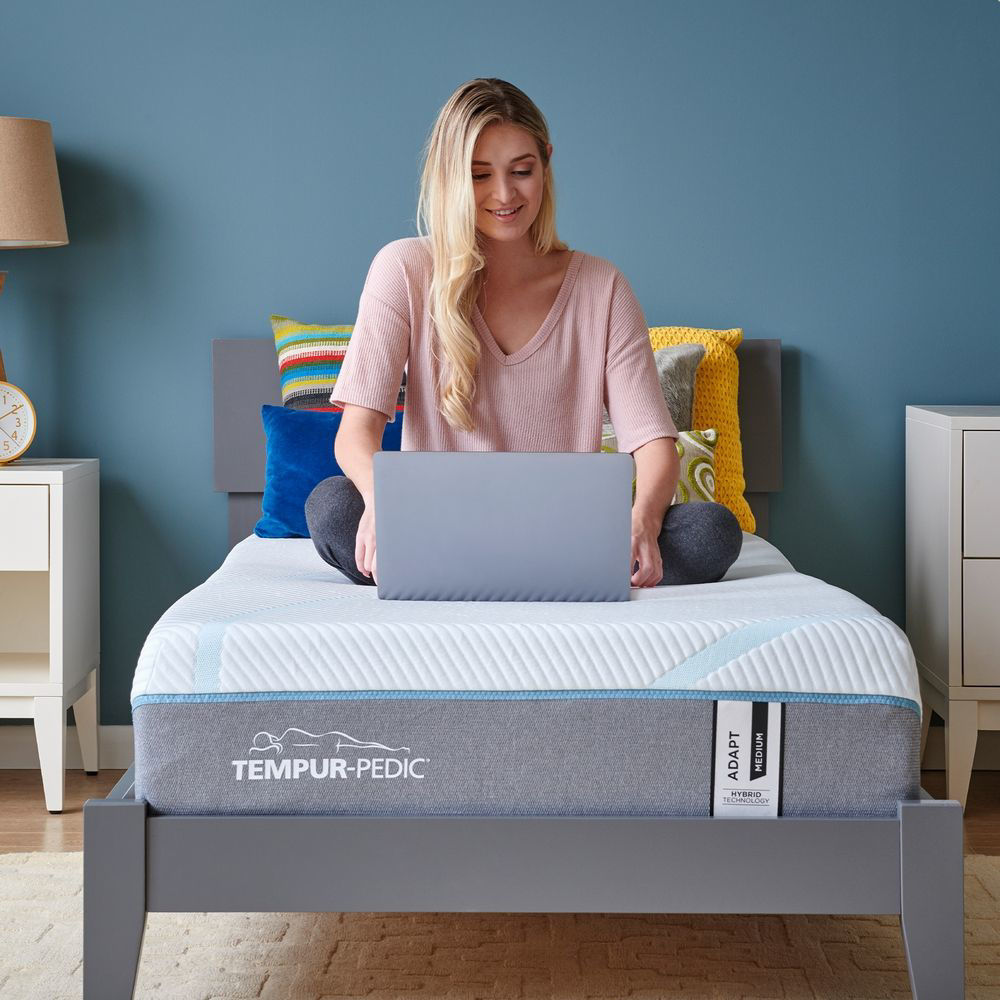 TEMPUR-Adapt Medium Hybrid Mattress - Single