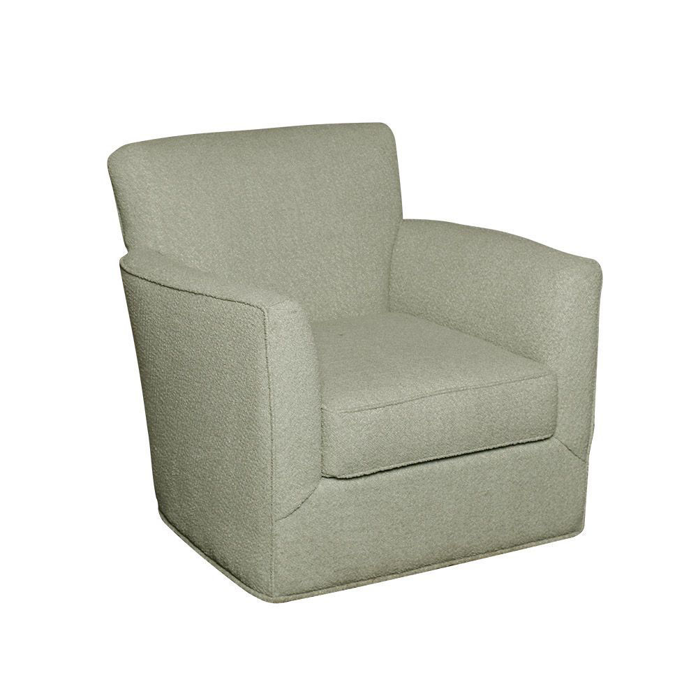 Grayson Swivel Chair - Mint
