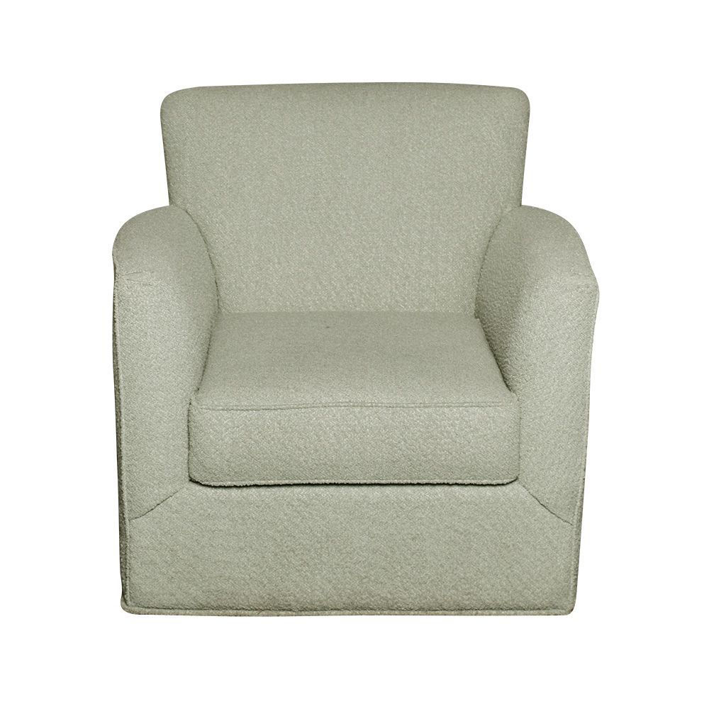 Grayson Swivel Chair - Mint - Front
