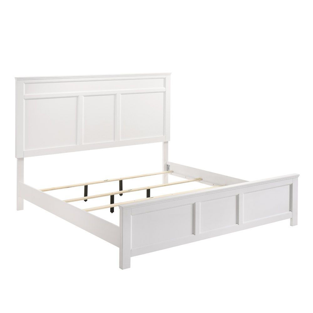 Andover Bed - White - Side