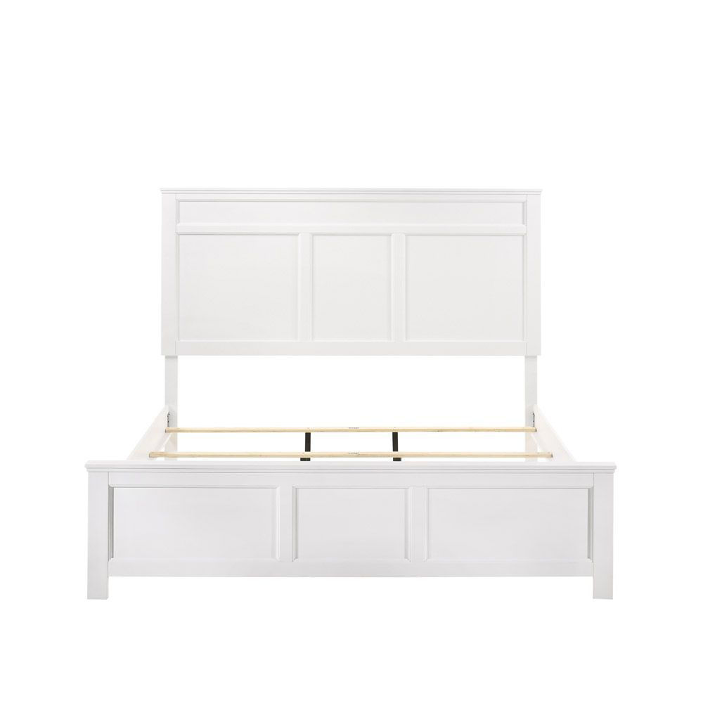 Andover Bed - White - Front