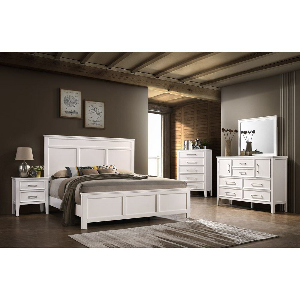 Andover Bed - White - Room