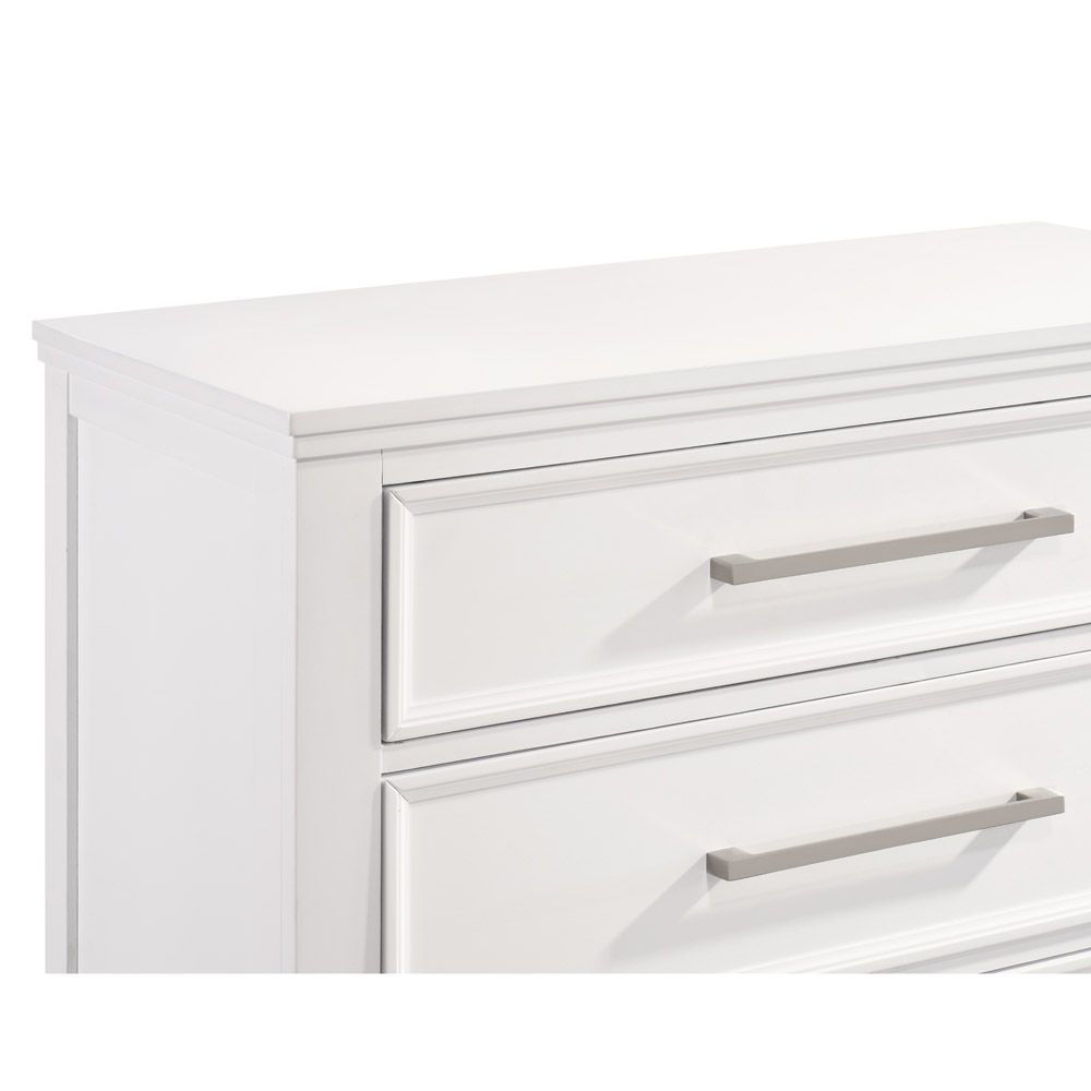 Andover Chest - White - Drawer Detail
