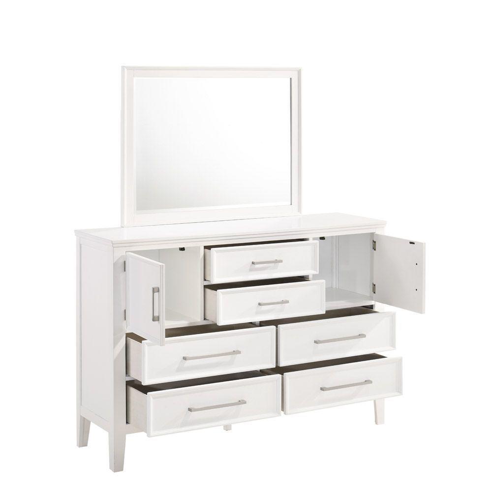Andover Dresser - White - Opened