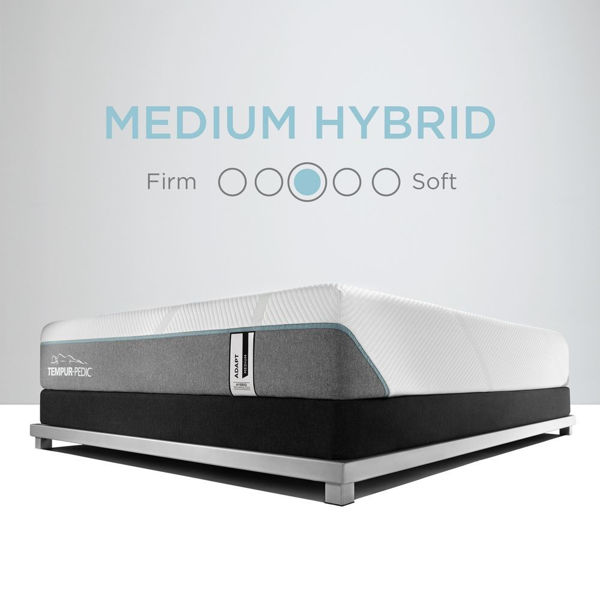 TEMPUR-Adapt Medium Hybrid Mattress - Feel