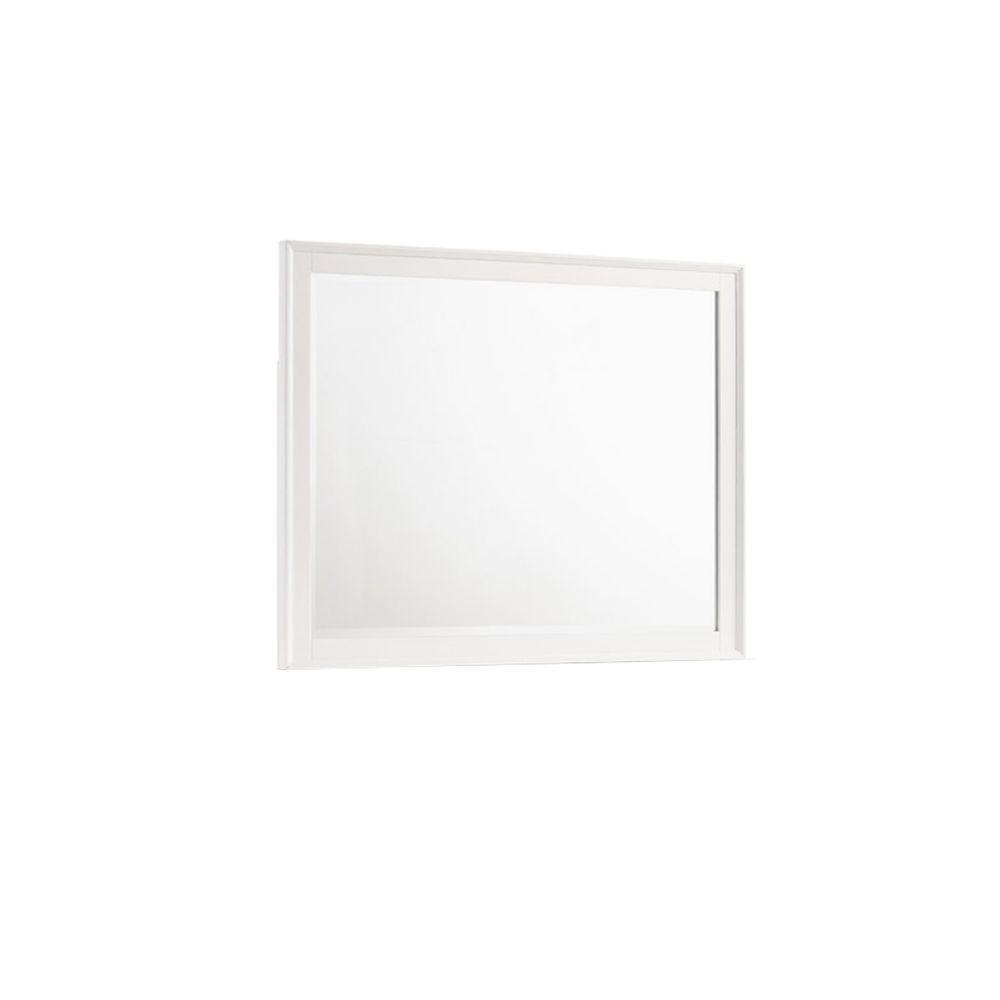 Andover Mirror - White