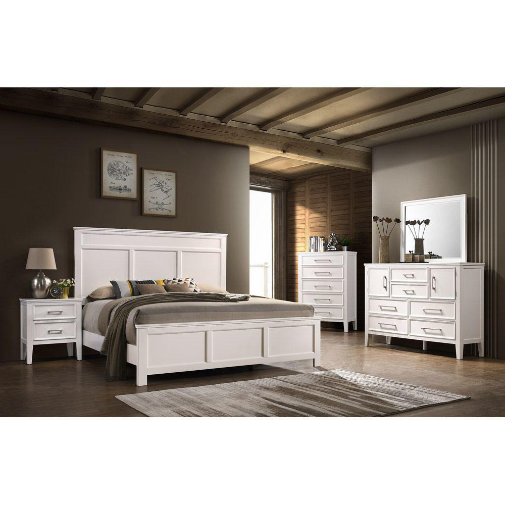 Andover Mirror - White - Room