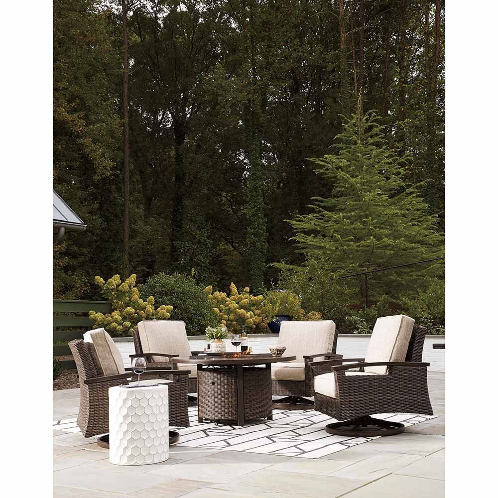 Santa Fe Round Fire Pit - Each Item Sold Separately