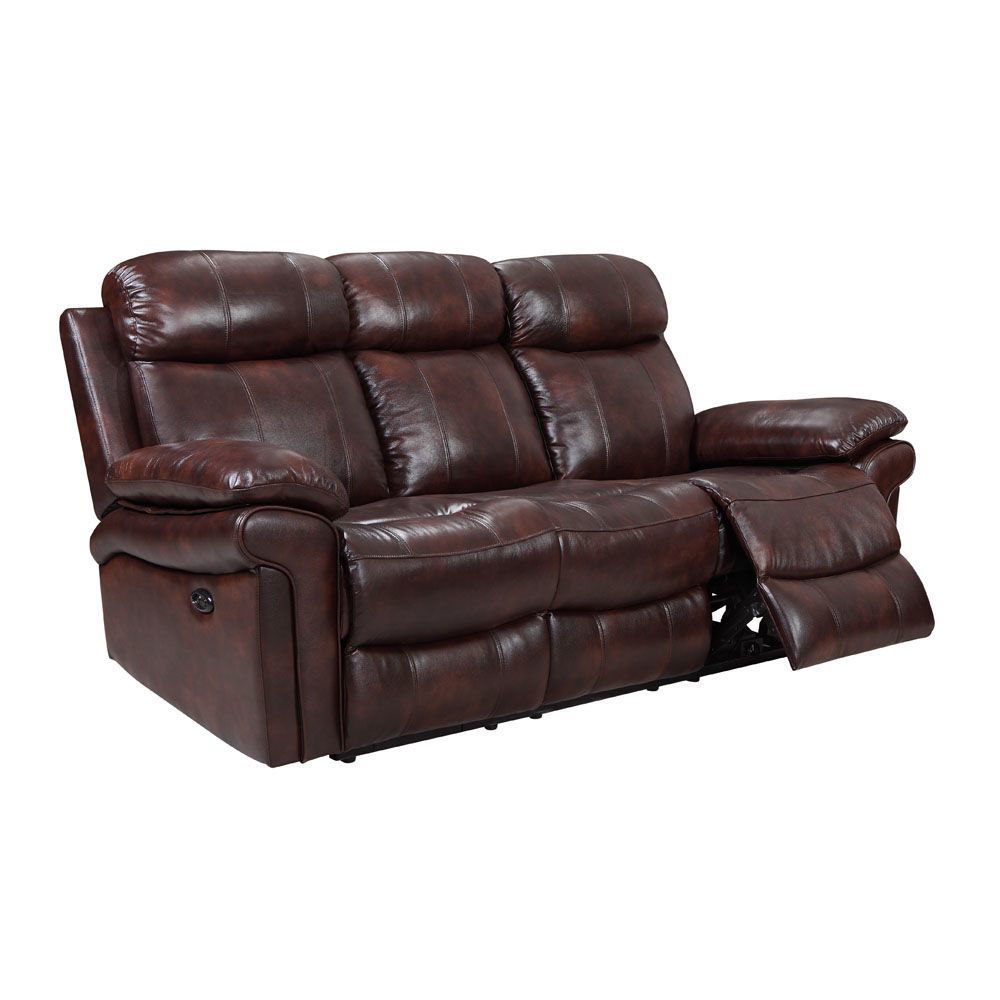 Joplin Leather Power Reclining Sofa