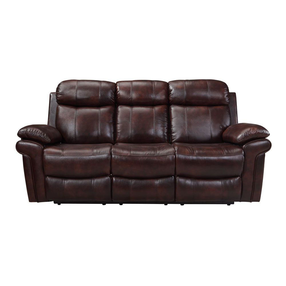 Joplin Leather Power Reclining Sofa - Front