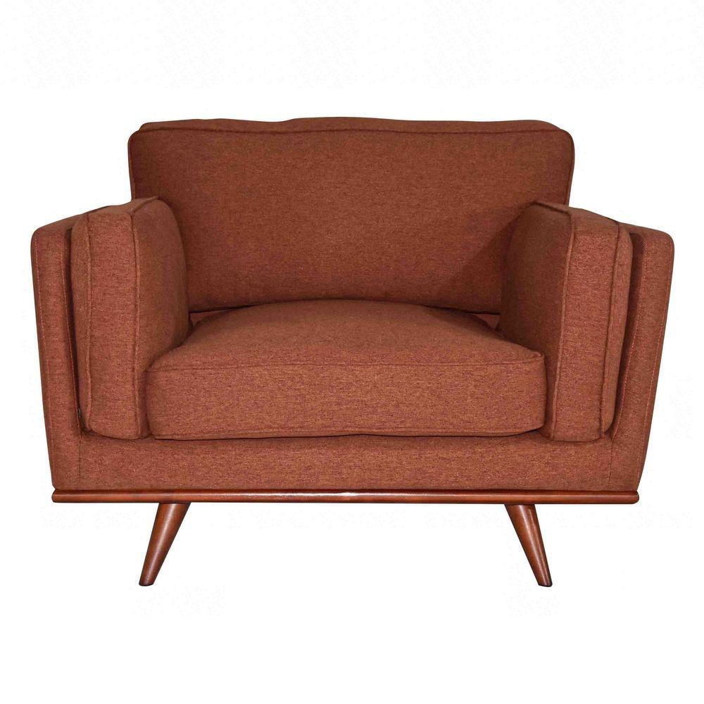 Camden Chair - Terracotta - Front