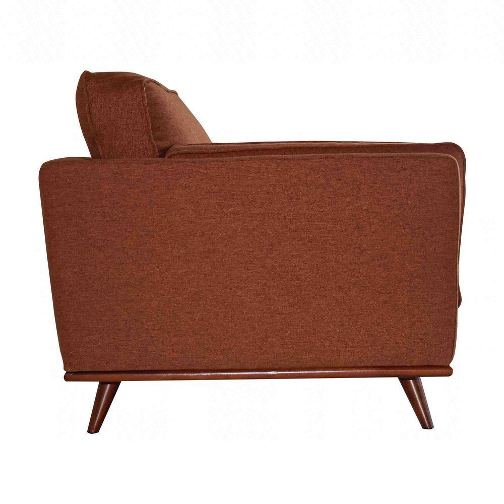 Camden Chair - Terracotta - Side