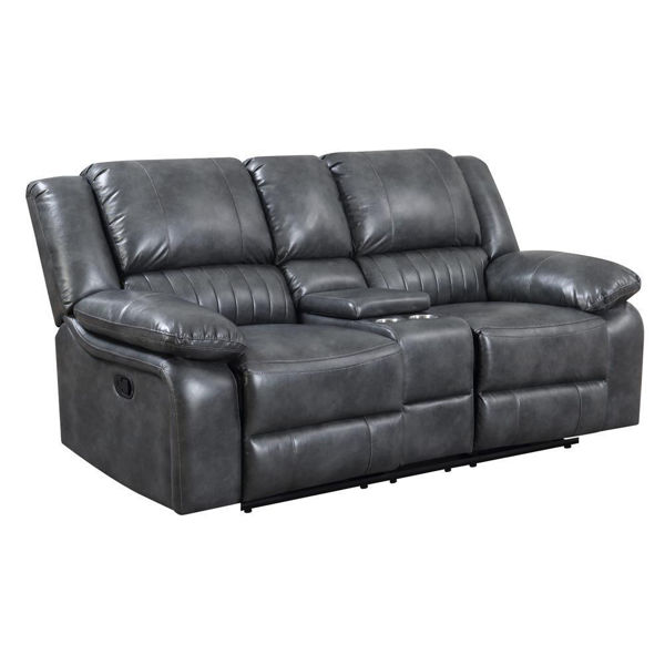 Picture of Navaro Console Reclining Loveseat