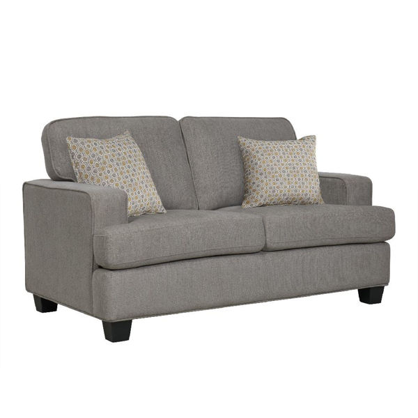 Picture of Carter Loveseat - Light Gray