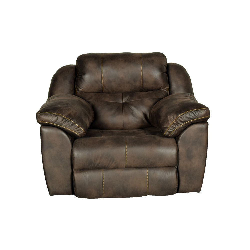 Bear Power Recliner With Power Headrest In Dusty - Front