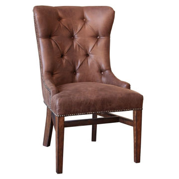 Picture of Terra Brown Upholstered Chair