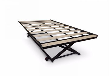 """Picture of Twin """"Pop-Up"""" Trundle Bed Frame"""