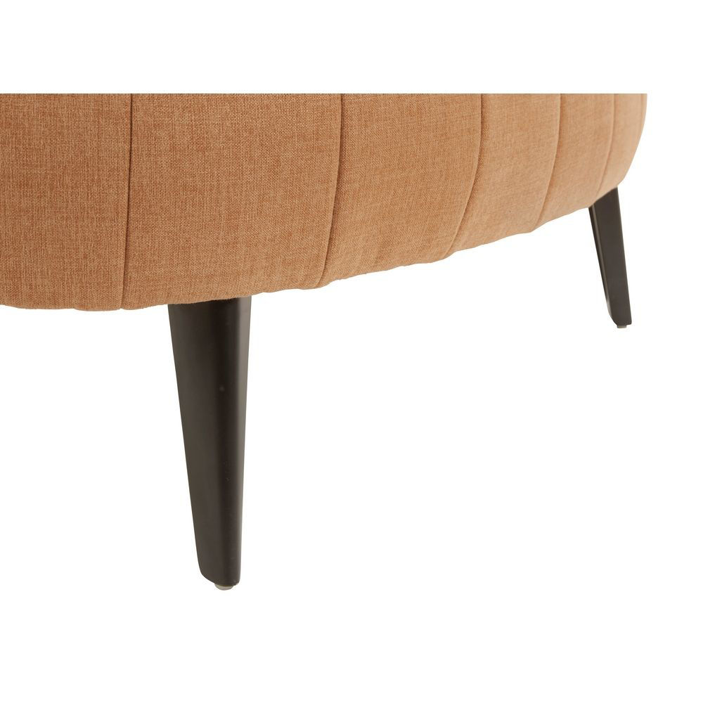 Picture of Holly Oversized Ottoman - Rust
