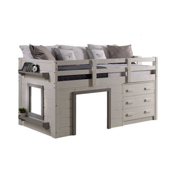 Sweet Dreams Low Loft Twin Bunk