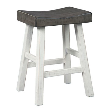 Glosco Counter Stool - White