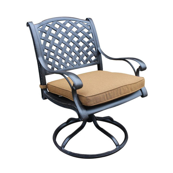 Picture of Taos 2 Outdoor Dining Swivel Chair