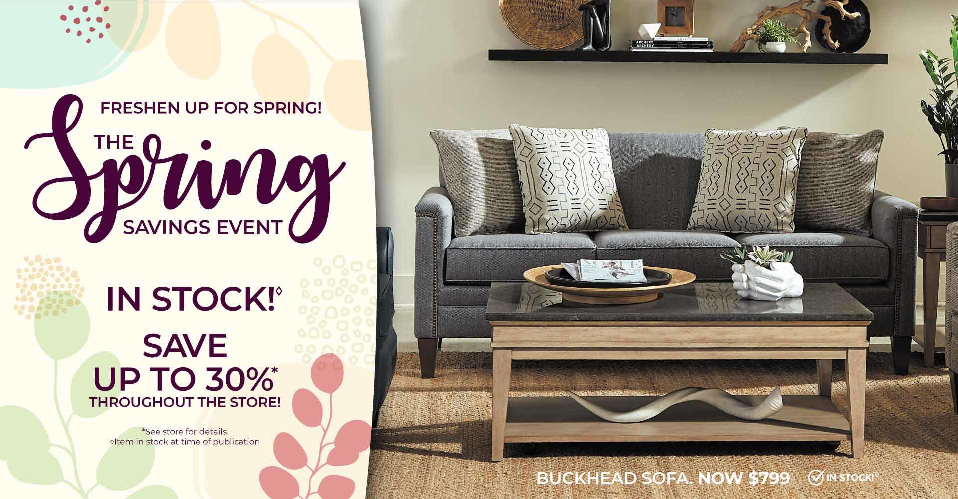 Springtime Savings - Buy More, Save More