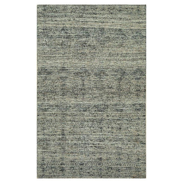 Picture of Natural Wool Tone on Tone Gray White Rug