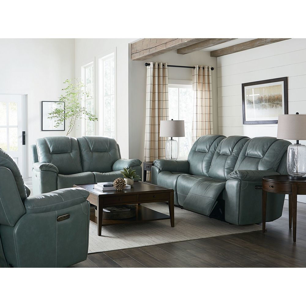 Picture of Chandler Power Reclining Sofa - Blue Gray