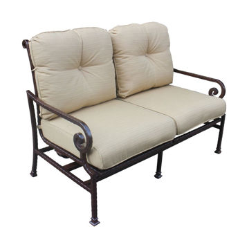 Picture of Santa Rosa 2 Motion Outdoor Loveseat