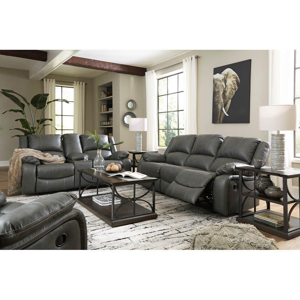 Calderwell Reclining Sofa - Lifestyle