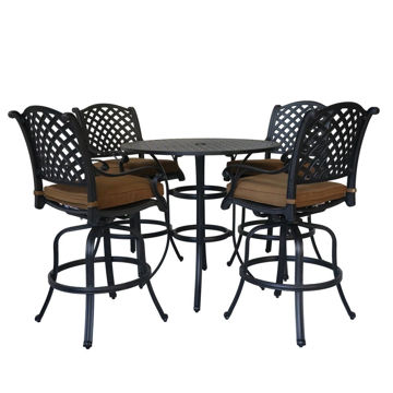 Picture of Taos 2 Outdoor Bar Table Set